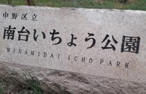 中野区立南台いちょう公園