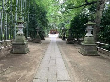 喜多見氷川神社の画像2