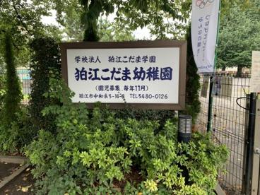 狛江こだま幼稚園の画像1