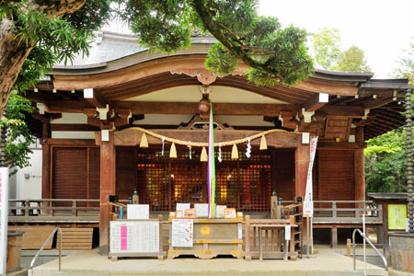 鳩森八幡神社の画像1