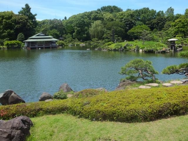 清澄庭園の画像