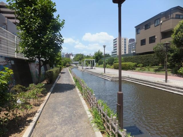 古石場川親水公園の画像