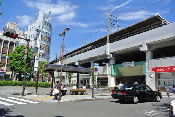 南武線武蔵新城駅の画像