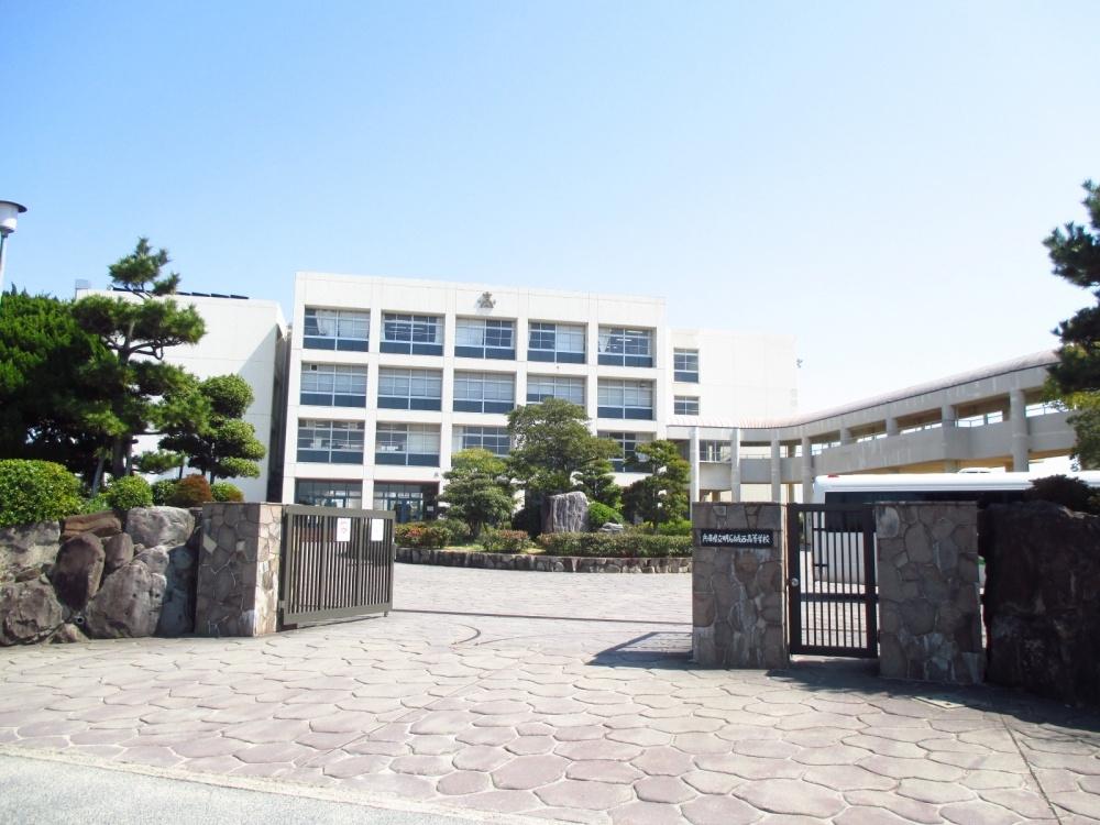 兵庫県立明石城西高等学校の画像