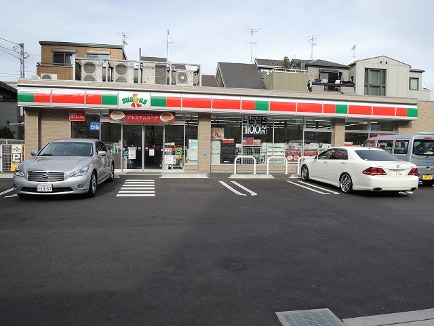サンクス「川崎川中島二丁目店」の画像