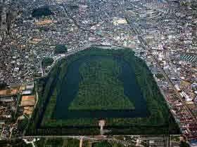 仁徳天皇陵古墳の画像1