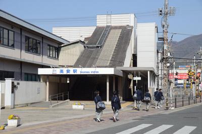 高安駅の画像1