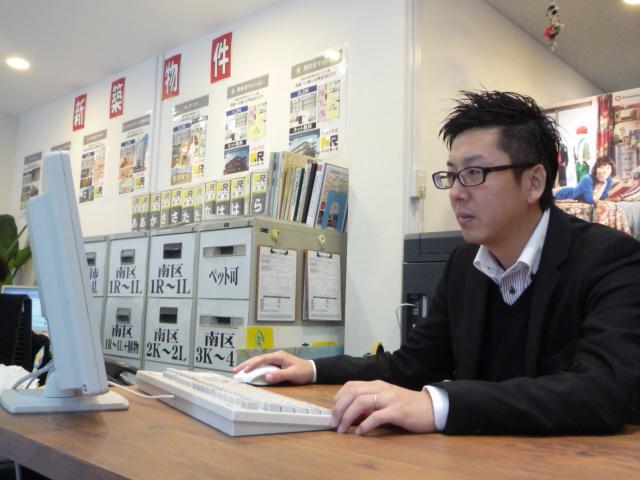 ドッとあーる賃貸大橋店   上野 良和の画像